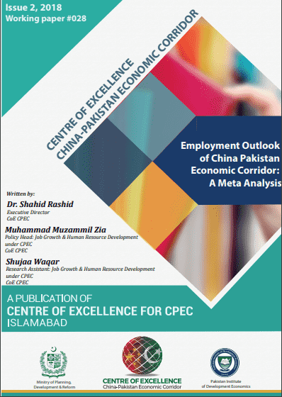 Employment Outlook of China Pakistan Economic Corridor: A Meta Analysis