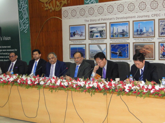 51st CPEC Projects Progress Review Meeting on 25 October 2017