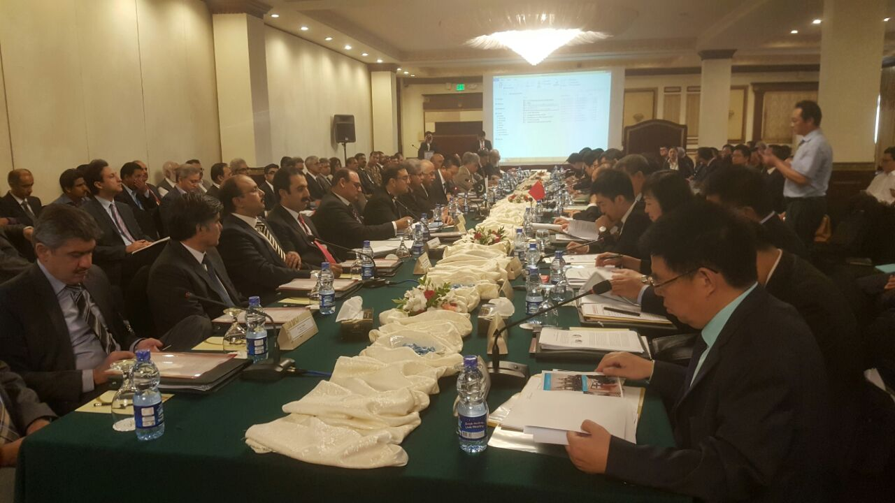 CPEC 5th Transport and Infrastructure Joint Working Group Meeting on 23 September 2017