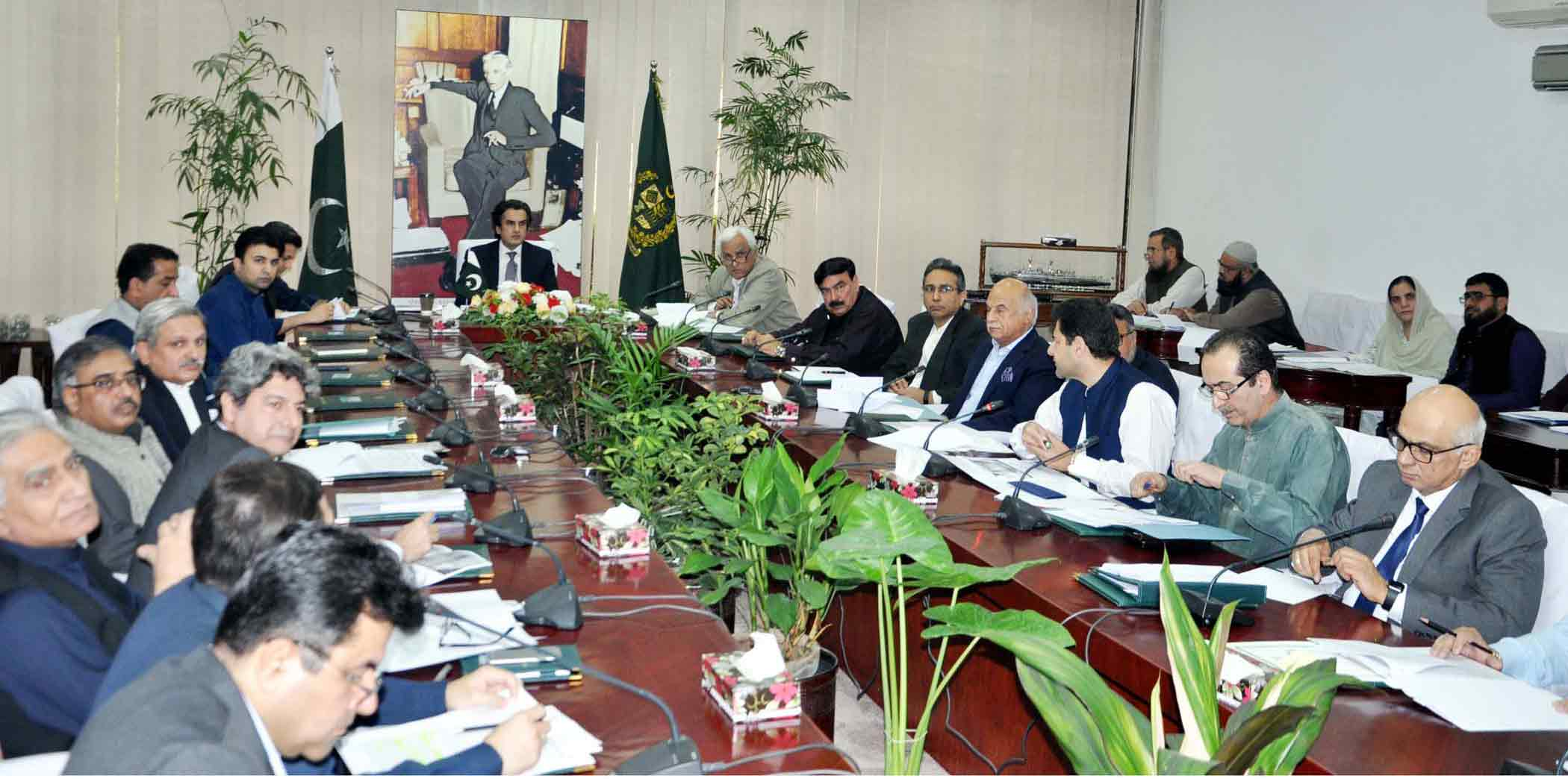 Meeting of Cabinet Committee on CPEC held on November 1, 2019