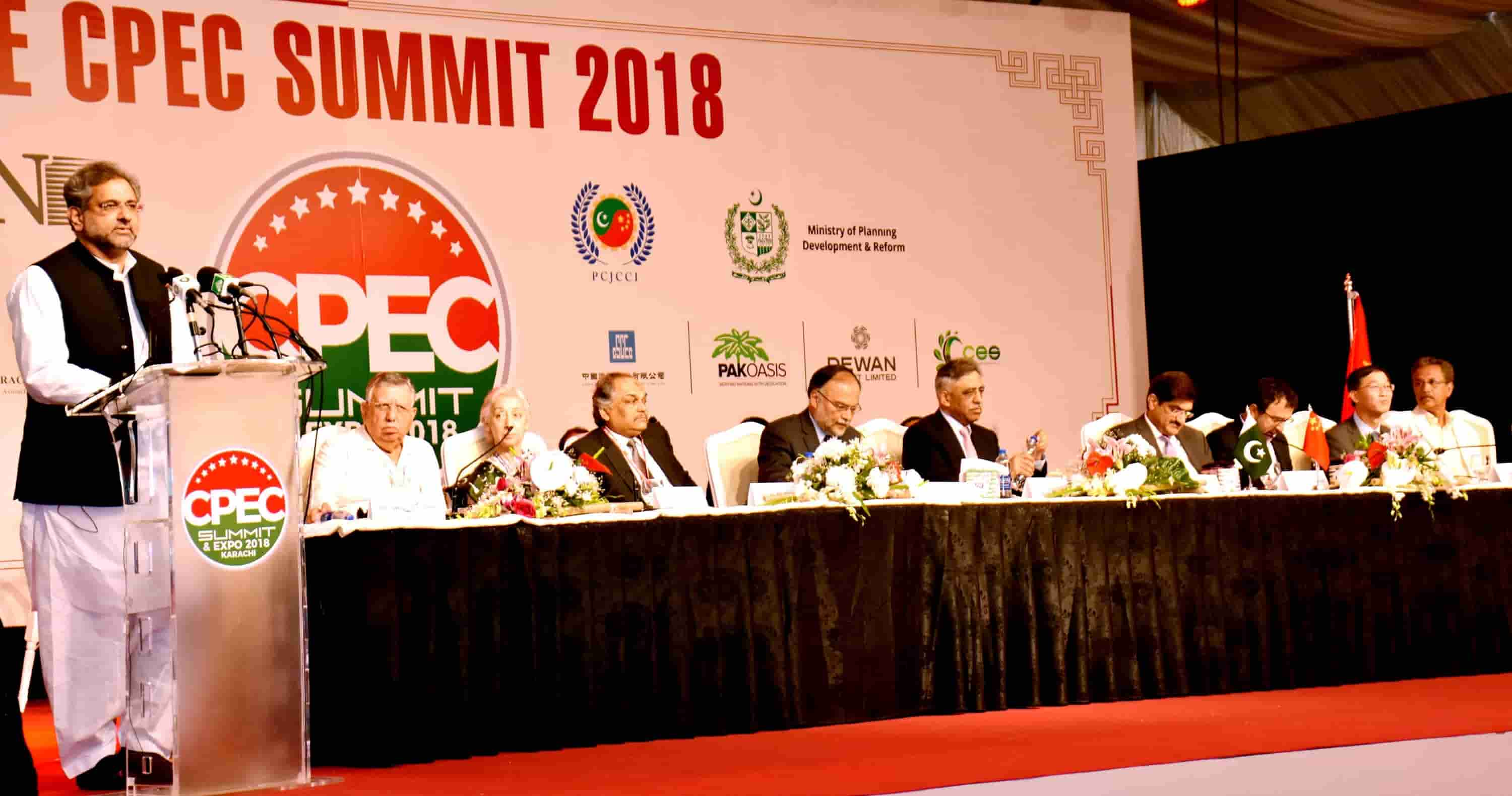 CPEC Summit and Expo at Karachi on 23-24 April 2018