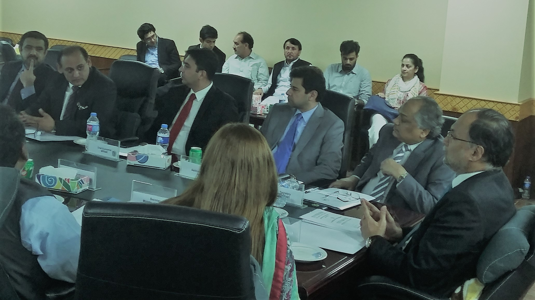 Progress Review-Provincial  SEZ's Meeting Under CPEC on 05 October 2017