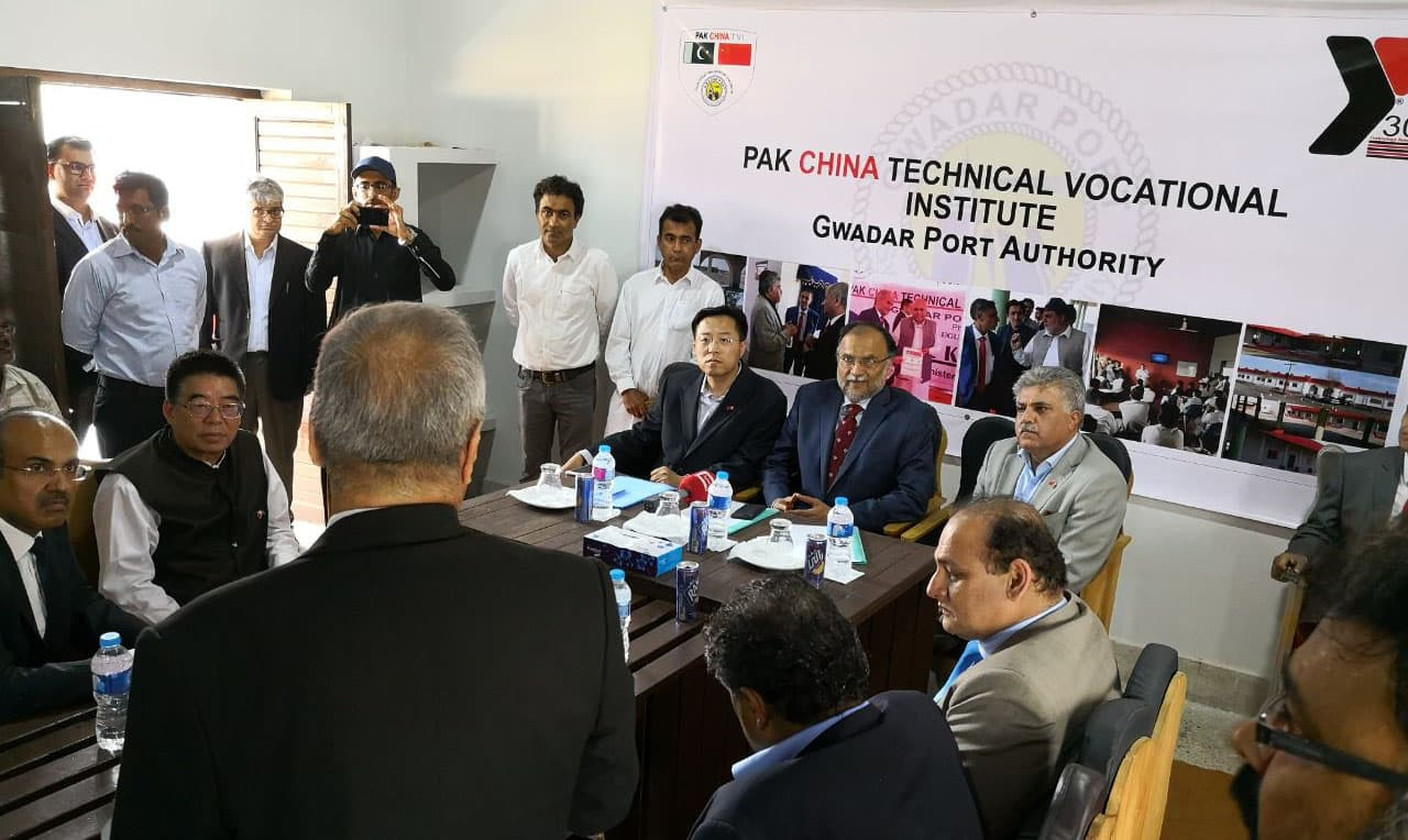 Pakistani and Chinese Media officials Visit to Gwadar with Minister PD&R/Interior 19-03-2018