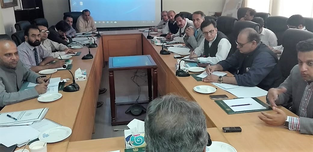 Secretary PD&R Chairing Meeting on Karachi Circular Railway  on 29-06-2018