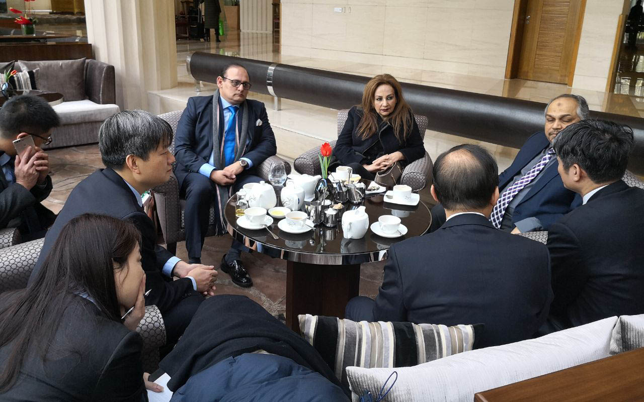Secretary PD&R  Meeting with Chinese Enterprises to Review Progress of CPEC Projects