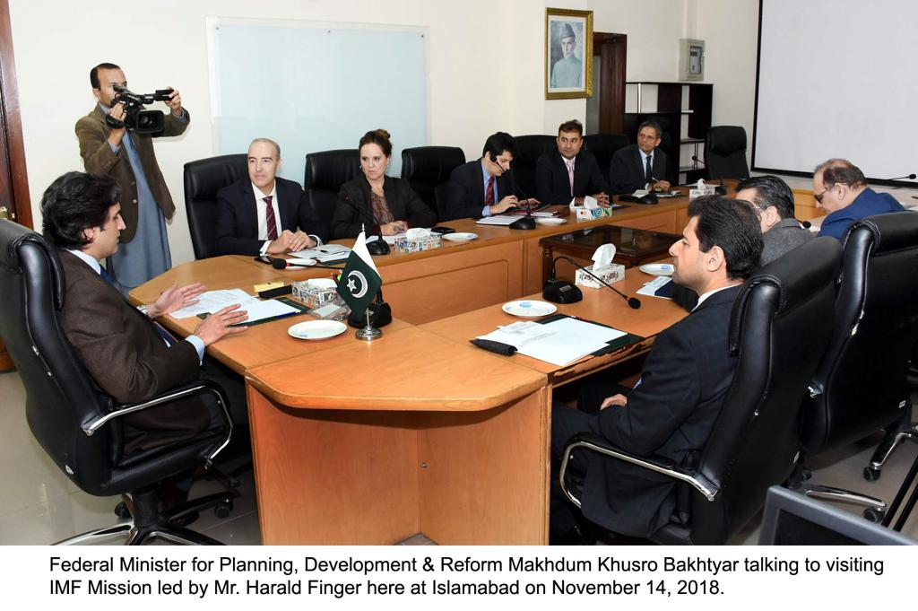 Visiting IMF Mission Calls On Federal Minister For Planning