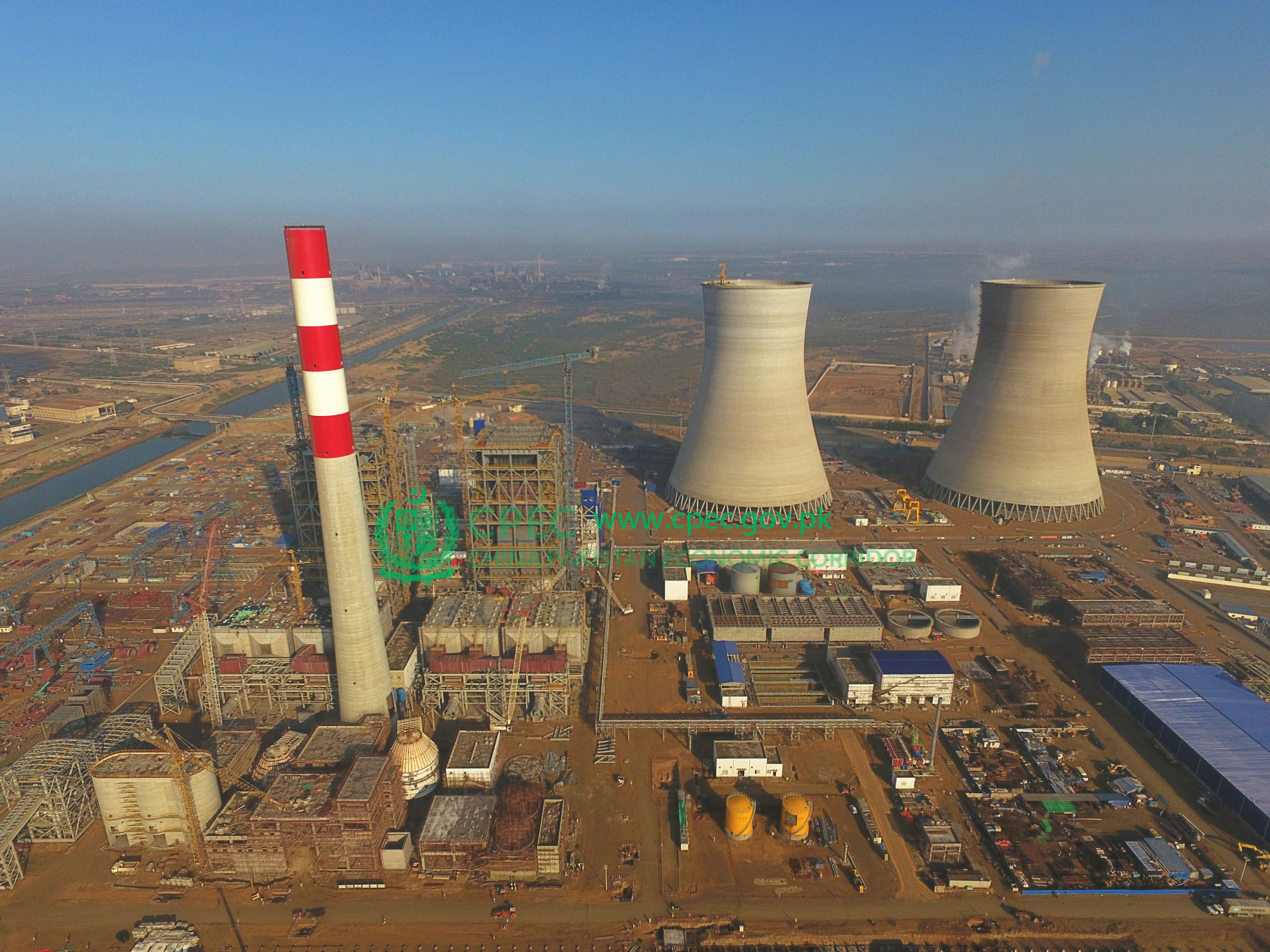 2×660MW Coal-fired Power Plants at Port Qasim Karachi